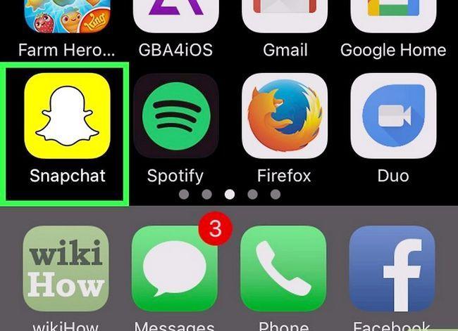 Prent getiteld Soek mense op Snapchat Stap 14