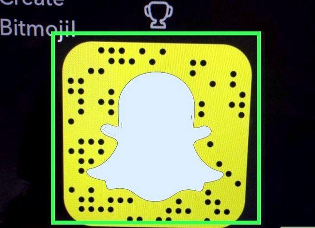Prent getiteld Soek mense op Snapchat Stap 17