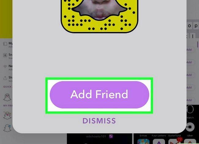 Prent getiteld Soek mense op Snapchat Stap 18
