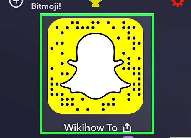 Prent getiteld Soek mense op Snapchat Stap 9