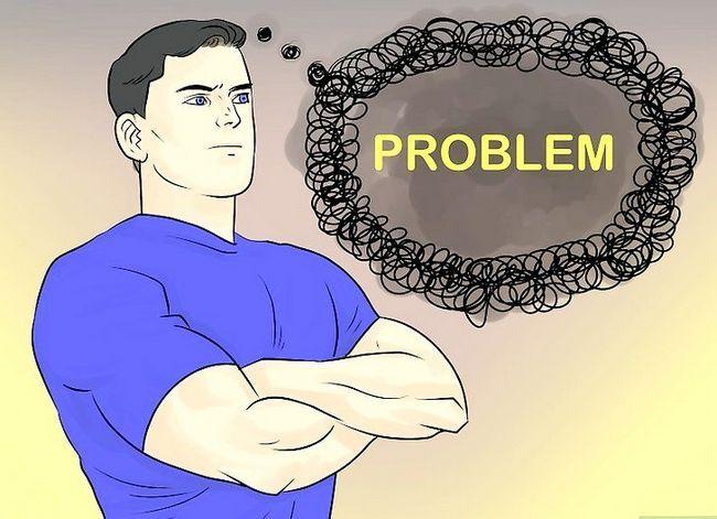 Prent getiteld Gesigsprobleme in jou lewe Stap 1