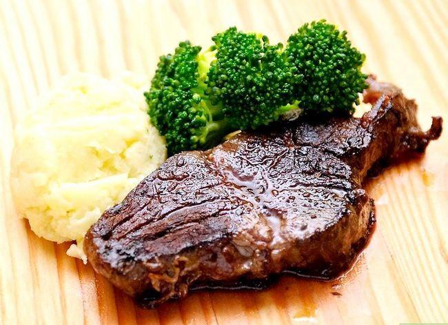 Prent getiteld Blacken Steak Stap 15