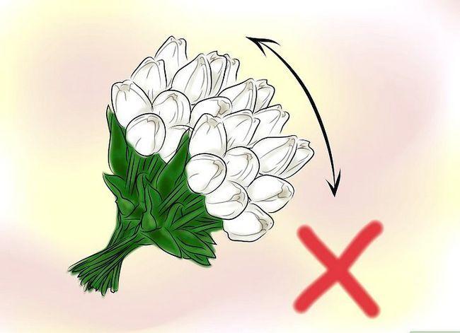 Prent getiteld Gee Blomme Stap 2