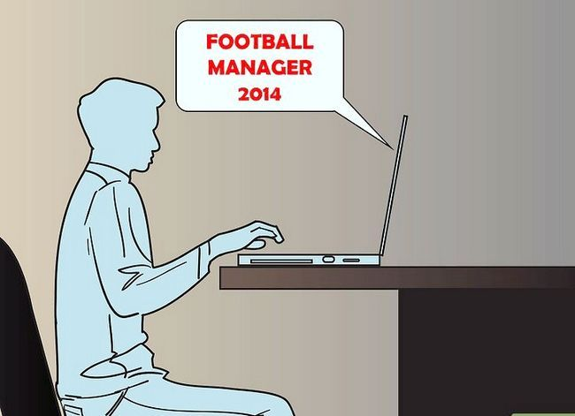 Prent getitel Coach a Soccer Team Stap 1Bullet1