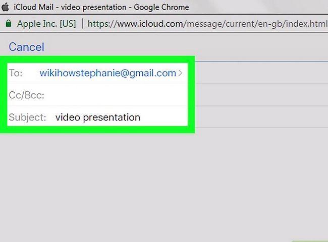 Prent getiteld E-pos Groot video lêers Stap 32