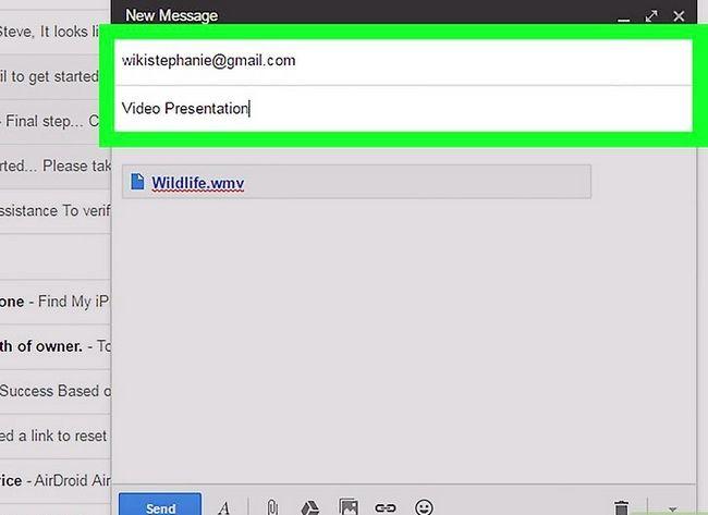 Prent getiteld E-pos Groot video lêers Stap 8