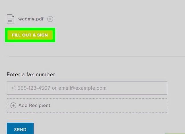 Prent getiteld Stuur faksse vanaf Gmail Stap 13