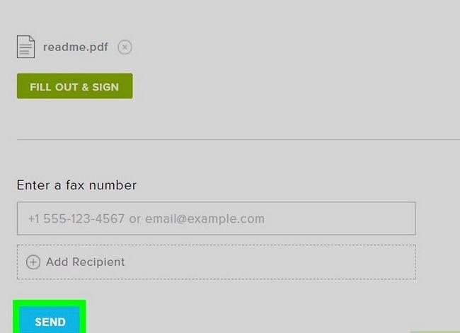 Prent getiteld Stuur faksse vanaf Gmail Stap 15