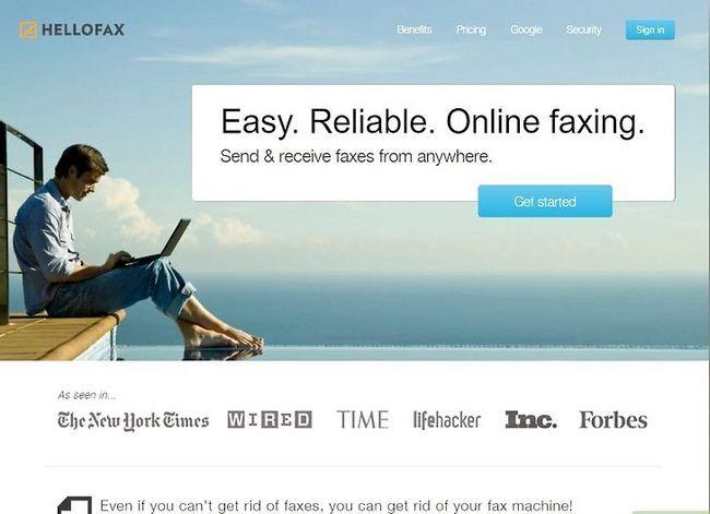 Prent getiteld Stuur faksse vanaf Gmail Stap 7