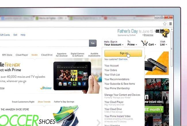 Prent getiteld E-pos Amazon Stap 2