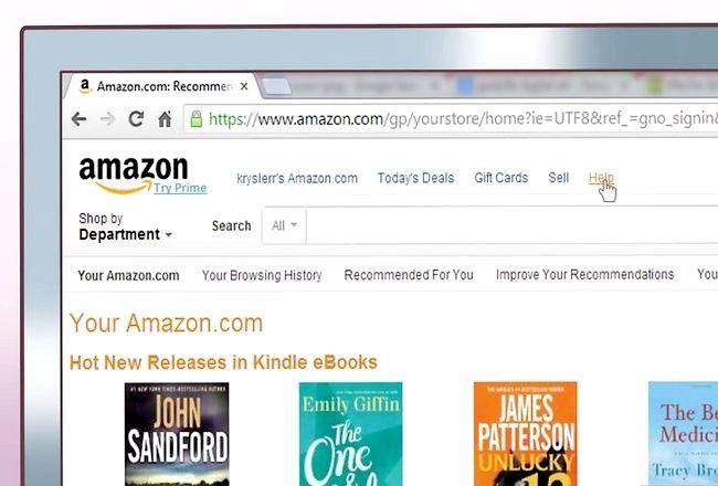 Prent getiteld E-pos Amazon Stap 4