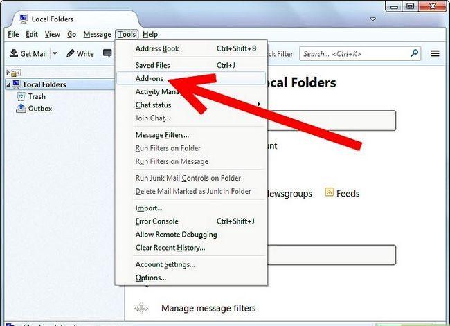 Beeld getiteld Stuur `n e-pos by `n spesifieke tyd in die toekoms met behulp van Mozilla Thunderbird Stap 3