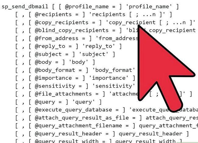 Prent getiteld Stuur `n geskeduleerde HTML-verslag direk vanaf SQL Server Stap 3