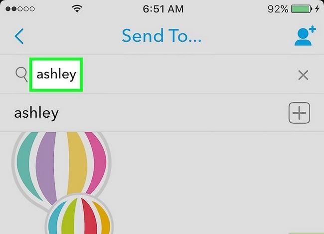 Beeld getiteld Snapchat Iemand wat het`t Added You As a Friend Step 5