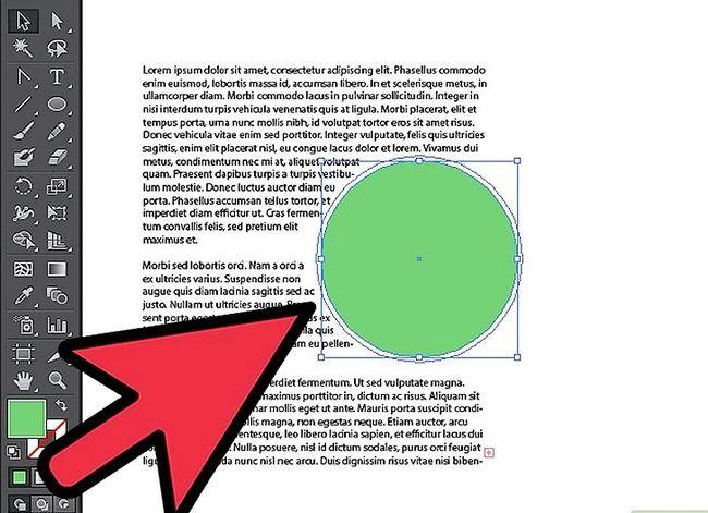 Prent getiteld Wrap teks in Adobe Illustrator Stap 5