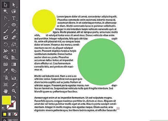 Prent getiteld Wrap teks in Adobe Illustrator Stap 6