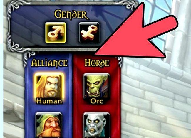 Prent getiteld Kies die Perfect Server_Realm vir World of Warcraft met Realm Pop Step 3