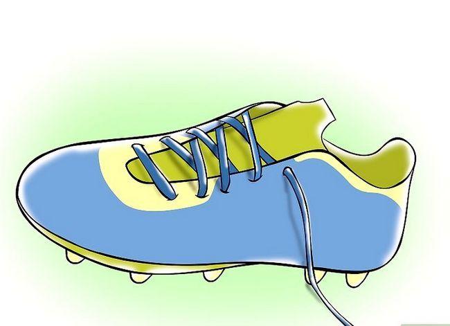 Beeld getiteld Grootte Soccer Cleats Stap 1