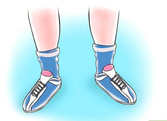 Beeld getiteld Grootte Soccer Cleats Stap 3