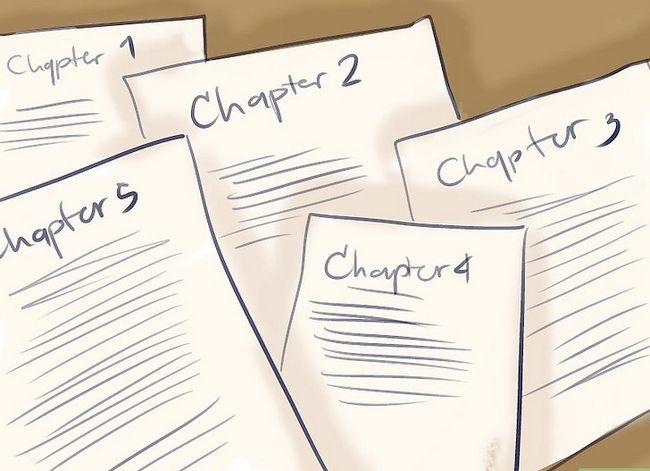 Prent getiteld Skets `n roman stap 7