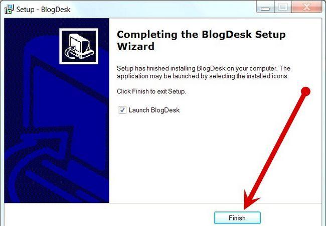 Prent getiteld Blog Met BlogDesk Stap 2