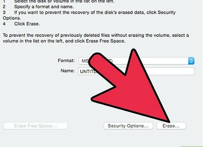 Prent Titel Skryf `n eksterne hardeskyf op Mac OS X Stap 14