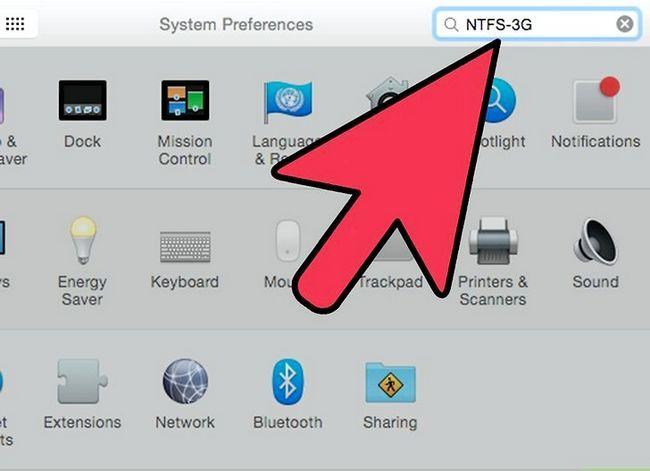 Prent Titel Skryf `n eksterne hardeskyf op Mac OS X Stap 6