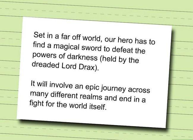 Prent getiteld Skryf Dark Fantasy Stap 1