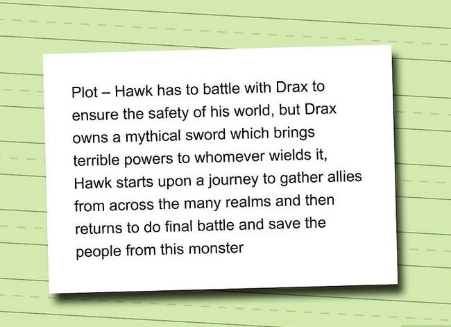 Prent getiteld Skryf Dark Fantasy Stap 5