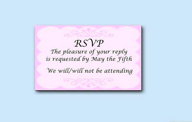 Prent getiteld Skryf trou uitnodigings Stap 8