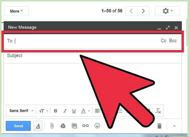 Prent getiteld Skryf `n kliëntediens e-pos stap 1