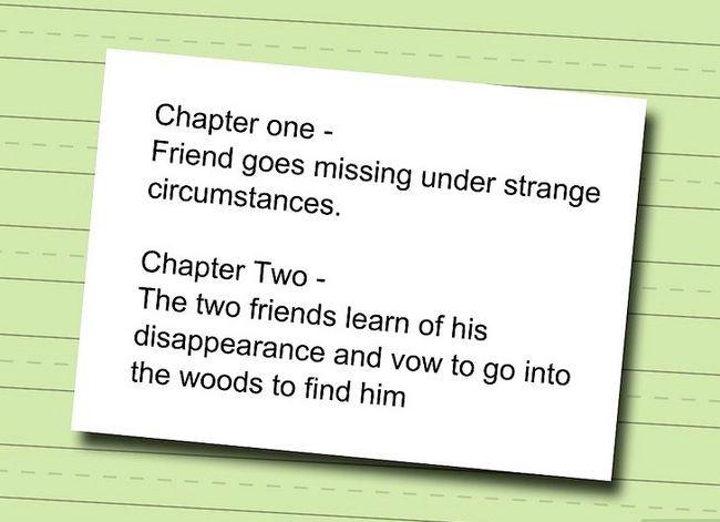 Prent Titel Skryf `n Hoofstuk Boek Stap 2