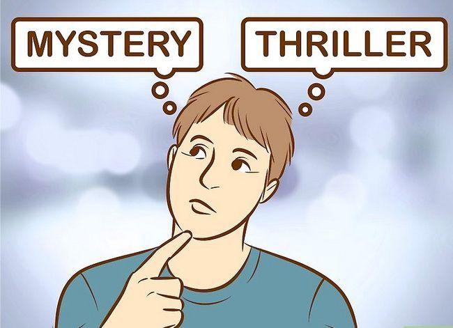 Prent getiteld Skryf `n Mystery Story Stap 1