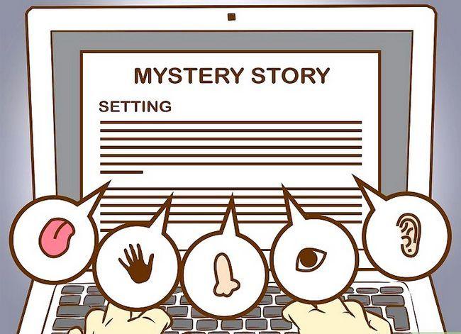 Prent getiteld Skryf `n Mystery Story Stap 15