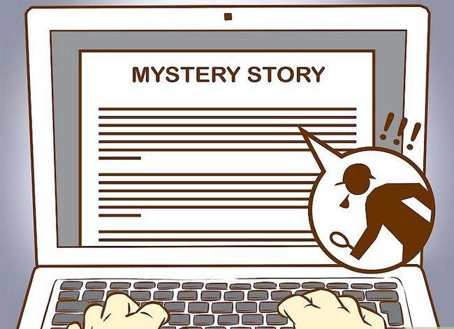 Prent getiteld Skryf `n Mystery Story Stap 16