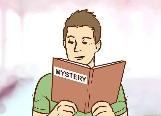 Prent getiteld Skryf `n Mystery Story Stap 2