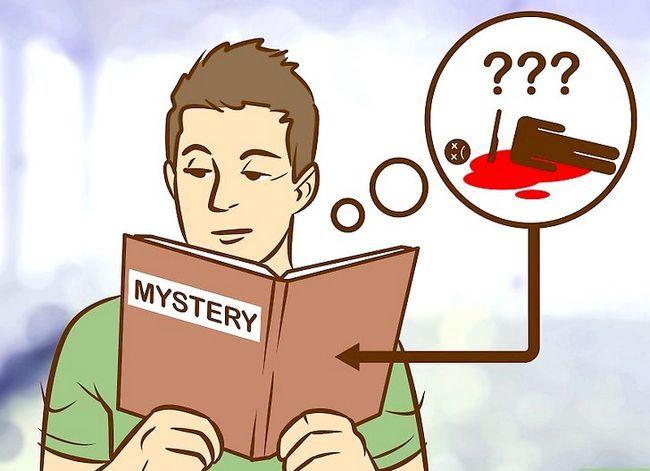 Prent getiteld Skryf `n Mystery Story Stap 5