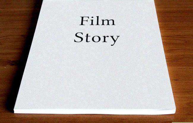 Prent getiteld Skryf `n storie vir Film Stap 3