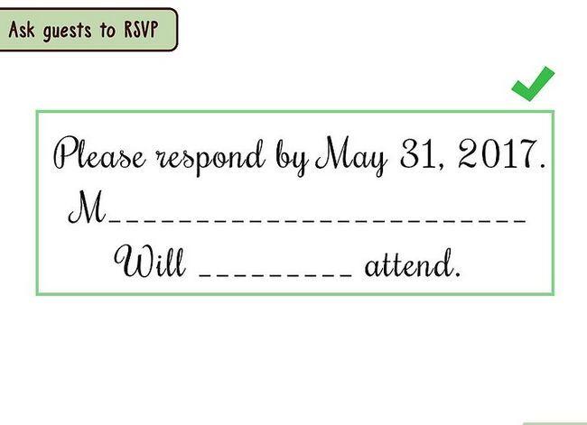 Prent getiteld Skryf `n formele uitnodiging stap 13