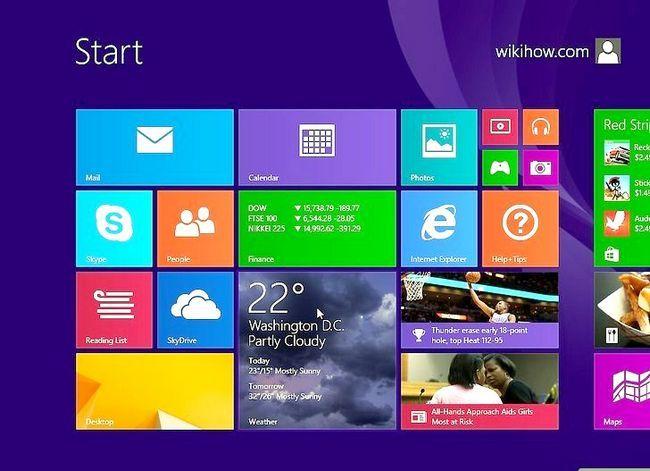 Prent getiteld Formatering Windows 8 Stap 13