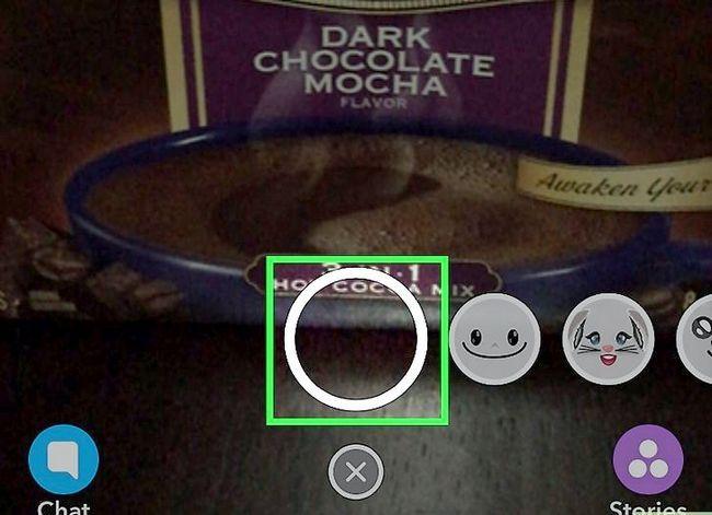 Prent getiteld Stel tyd limiete op Snapchat Stap 2