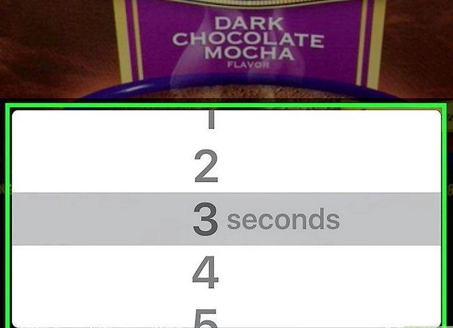 Prent getiteld Stel tyd limiete op Snapchat Stap 4