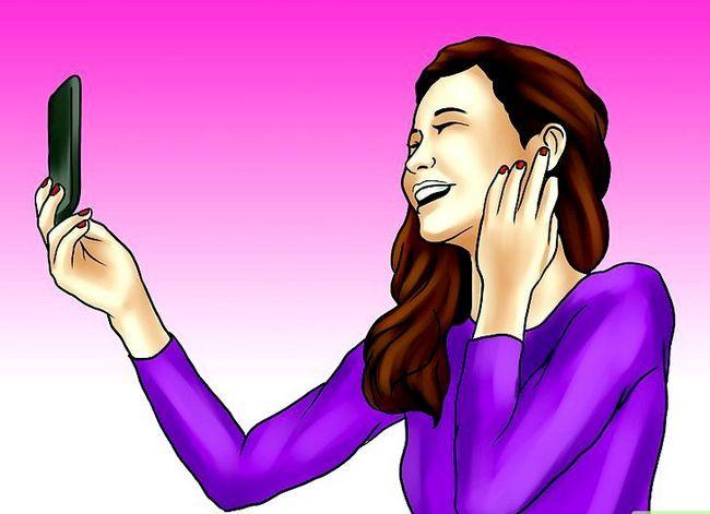 Prent getiteld Wees meer vertroue met hoe jy kyk (vir meisies) Stap 5