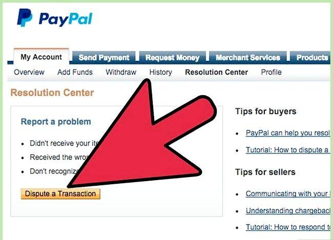 Prentjie getiteld Vermy `n PayPal terugbetaling stap 6