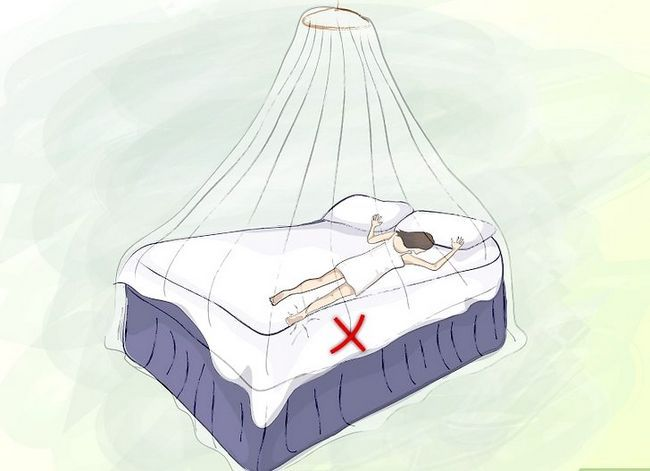 Prent getiteld Vermy Mosquito Bites Stap 11