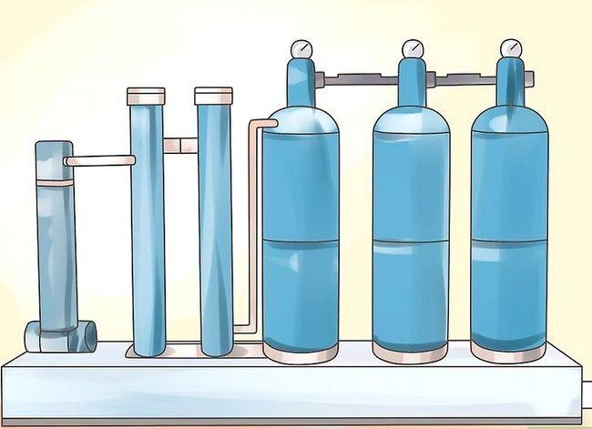 Prent getiteld Laer pH in Water Stap 2