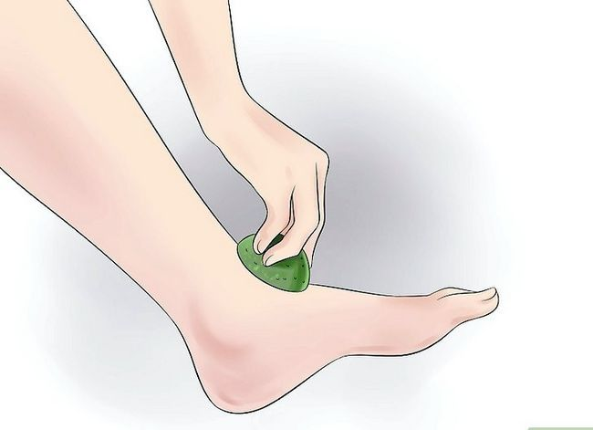 Prent getiteld Voorkom stinkende voete Stap 18