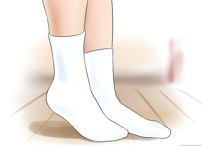 Prent getiteld Voorkom stinkende voete Stap 5