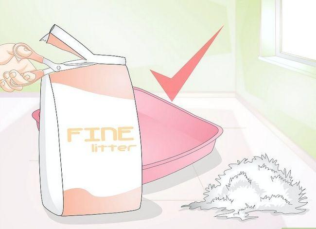 Prent getiteld Hou Cat Litter van Tracking Stap 7