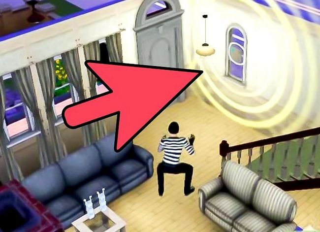 Prent getiteld Verhoed Robber Van Stal Jou Besittings op Sims 3 Stap 4